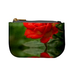Rose Coin Change Purse