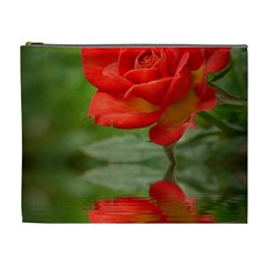 Rose Cosmetic Bag (xl)