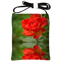 Rose Shoulder Sling Bag