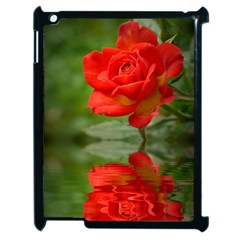 Rose Apple Ipad 2 Case (black)