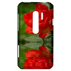 Rose HTC Evo 3D Hardshell Case
