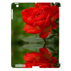 Rose Apple iPad 3/4 Hardshell Case (Compatible with Smart Cover)