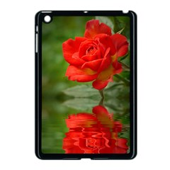 Rose Apple iPad Mini Case (Black)