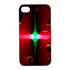 Magic Balls Apple Iphone 4/4s Hardshell Case With Stand