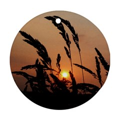 Sunset Round Ornament