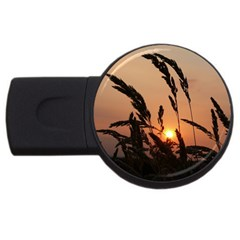 Sunset 1GB USB Flash Drive (Round)