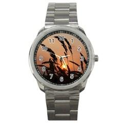 Sunset Sport Metal Watch