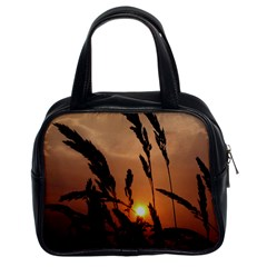 Sunset Classic Handbag (two Sides)