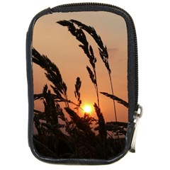 Sunset Compact Camera Leather Case