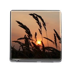 Sunset Memory Card Reader with Storage (Square)