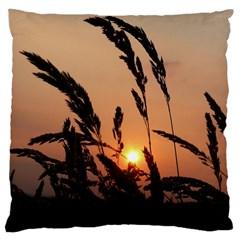 Sunset Large Cushion Case (two Sided)