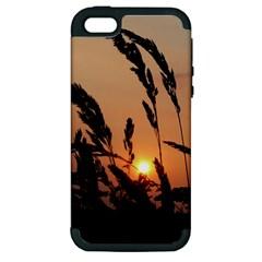Sunset Apple Iphone 5 Hardshell Case (pc+silicone)