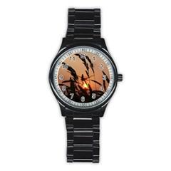 Sunset Sport Metal Watch (Black)