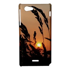 Sunset Sony Xperia J Hardshell Case
