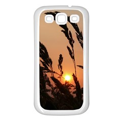 Sunset Samsung Galaxy S3 Back Case (White)