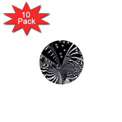 Space 1  Mini Button Magnet (10 pack)