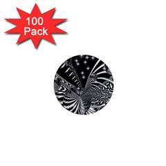 Space 1  Mini Button Magnet (100 pack)