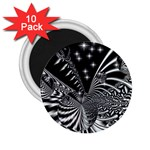 Space 2.25  Button Magnet (10 pack) Front