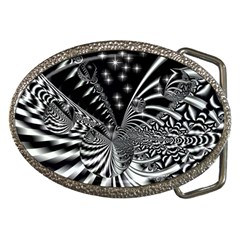 Space Belt Buckle (Oval)