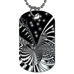 Space Dog Tag (two Sided)