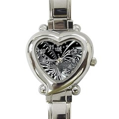 Space Heart Italian Charm Watch
