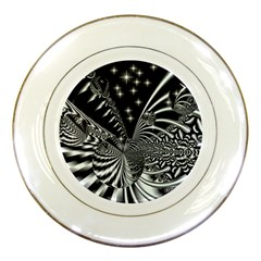 Space Porcelain Display Plate