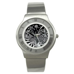 Space Stainless Steel Watch (Unisex)
