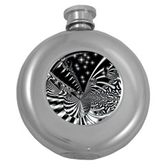 Space Hip Flask (Round)