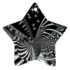 Space Star Ornament (two Sides)
