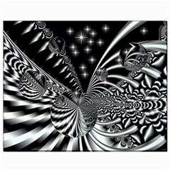 Space Canvas 8  X 10  (unframed)