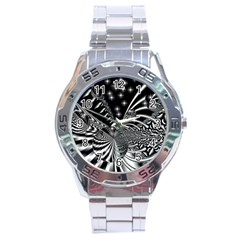 Space Stainless Steel Watch (Men s)