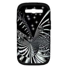 Space Samsung Galaxy S III Hardshell Case (PC+Silicone)