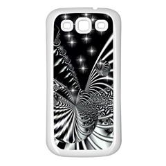 Space Samsung Galaxy S3 Back Case (White)