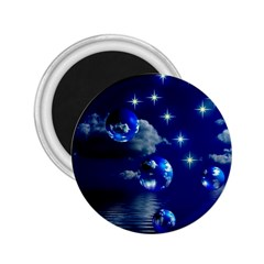 Sky 2.25  Button Magnet