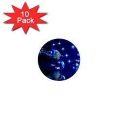 Sky 1  Mini Button Magnet (10 pack)
