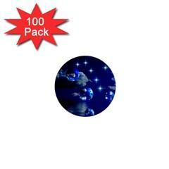 Sky 1  Mini Button (100 Pack)