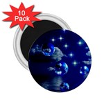Sky 2.25  Button Magnet (10 pack) Front