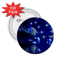 Sky 2.25  Button (100 pack)