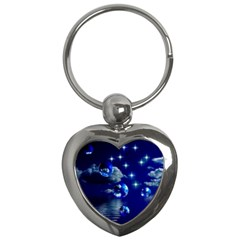 Sky Key Chain (heart)