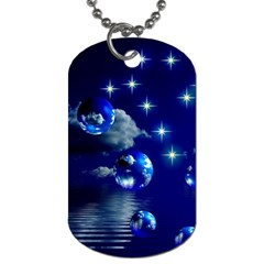 Sky Dog Tag (two Sided)