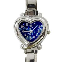 Sky Heart Italian Charm Watch