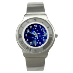 Sky Stainless Steel Watch (Unisex)