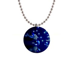 Sky Button Necklace