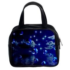 Sky Classic Handbag (Two Sides)