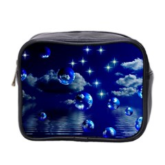 Sky Mini Travel Toiletry Bag (two Sides)