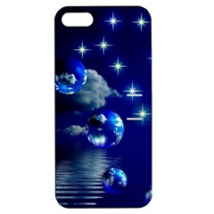 Sky Apple Iphone 5 Hardshell Case With Stand