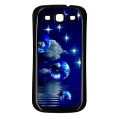 Sky Samsung Galaxy S3 Back Case (Black)