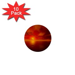 Sunset 1  Mini Button (10 pack)