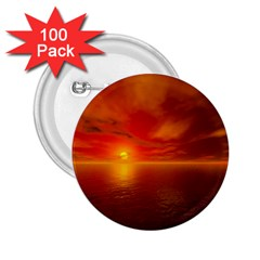 Sunset 2 25  Button (100 Pack)