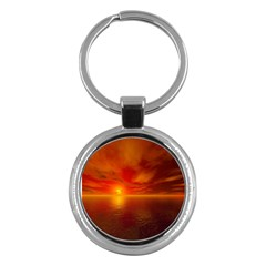 Sunset Key Chain (Round)